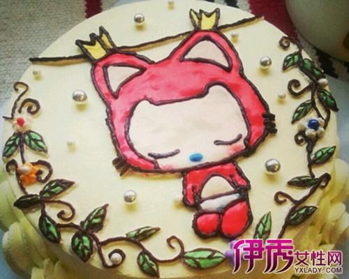 绘画简单卡通蛋糕