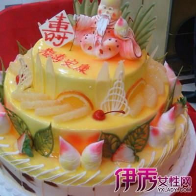 【图】大寿生日蛋糕图片展示 蛋糕的四种简单做法大揭秘