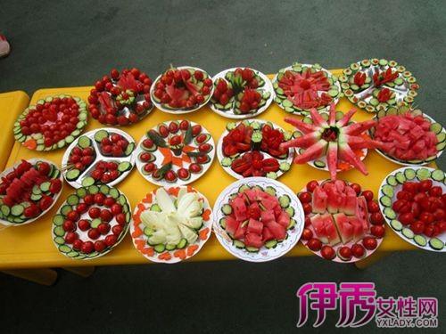 【水果拼盘创意造型】【图】分享水果拼盘创意