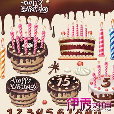 生日蛋糕数字蜡烛
