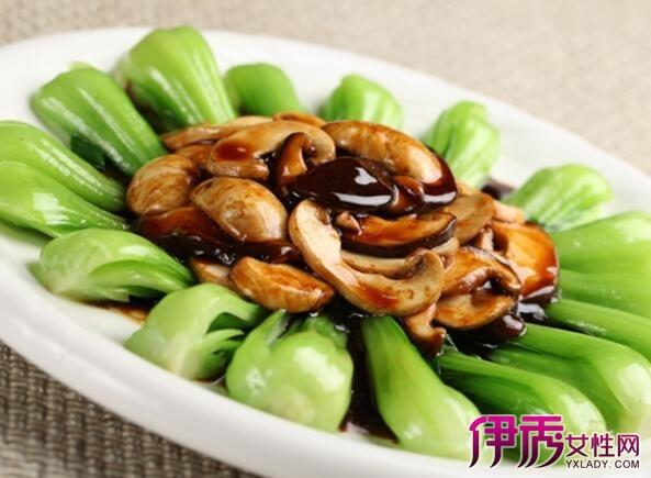 家常菜:香菇菜心的做法