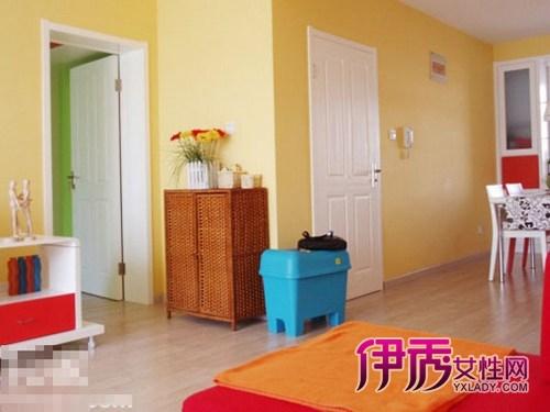 107平米装修三室二厅欧式田园风格美家(图)