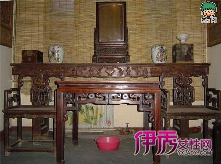 """""""环美家居""""的古典系列之一""""顶级宫殿"""",就是一套融合中式家具与美式"""