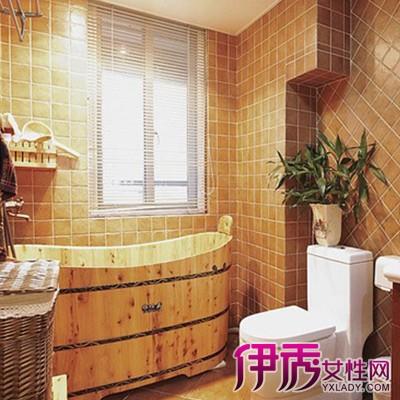 【图】木桶浴缸装修效果图观赏 在家好好放松身心的神器