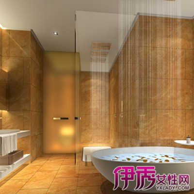 【图】展示五星级酒店客房洗手间装修效果图 3种风格打造美洗手间