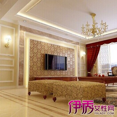 【图】客厅石膏线效果图大图展示 推介几种实用固定方式