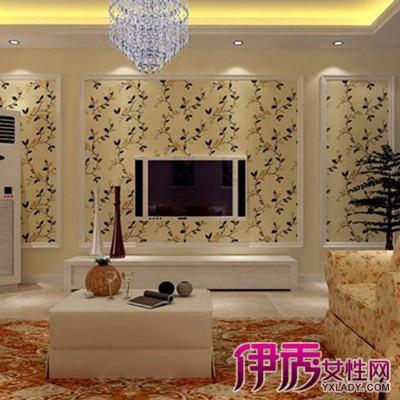 【图】石膏线电视墙效果图出炉
