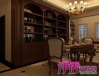 【图】家庭酒水柜装修效果图 介绍酒柜的6大特点