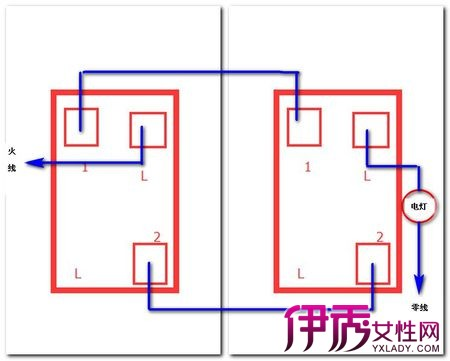 [图]双联开关接线图怎么连 两种方法教会你