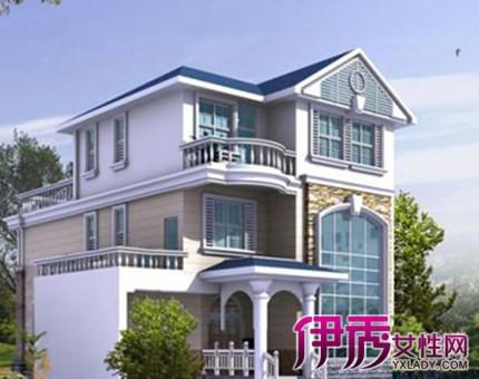 广东农村三层半别墅