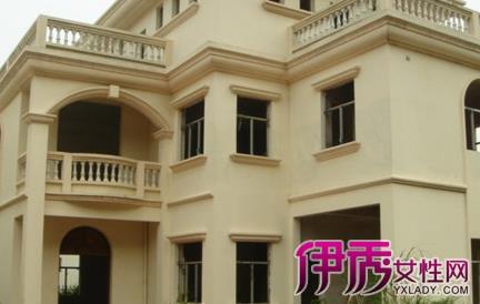 四层楼房外墙欧式涂料设计图展示