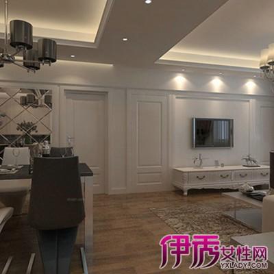 【客厅中间有横梁怎么装修效果图】【图】四款客厅有