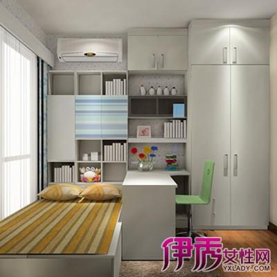 【图】衣柜书柜电脑桌组合计价 书柜隐形门的组合设计