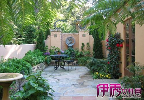 别墅小花园设计实景图