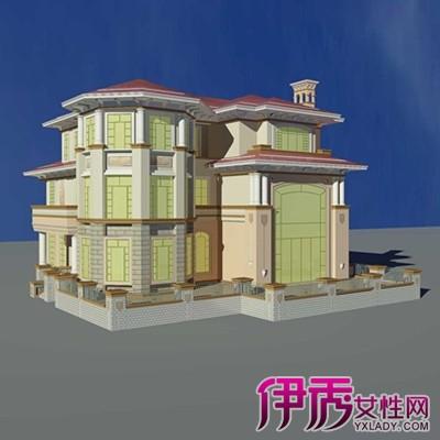【图】简约欧式别墅外观效果图