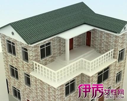 【图】漂亮的农村外墙装修效果图 展现中国博大的陶瓷文化