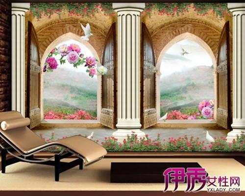 【图】罗马柱背景墙效果图展示