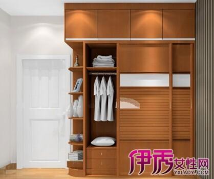 卧室衣柜内部设计 图纸