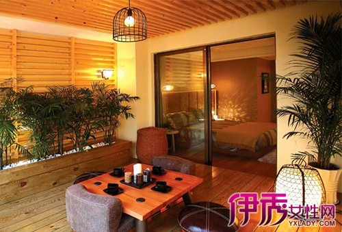 【图】阳台茶室装修效果图分享