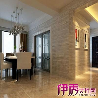 【图】室内墙砖装修效果图展示 客厅装修贴瓷砖好不好