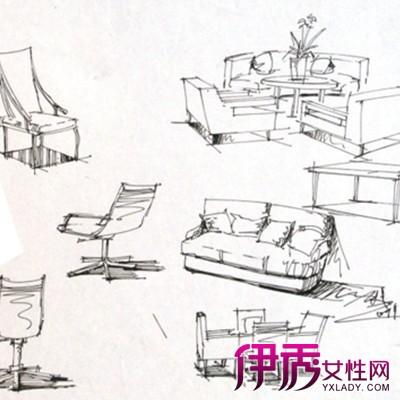 【图】单体家具手绘图大全