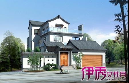 【图】两层半楼房外观效果图 农村两层半各式楼房风格鉴赏-两层半楼
