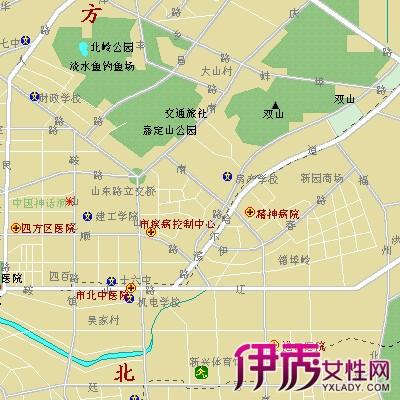 【图】中国青岛地图大全 青岛旅游必须去的景点推荐