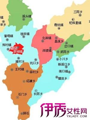 【黄山市歙县地图】【图】安徽省黄山市歙县地