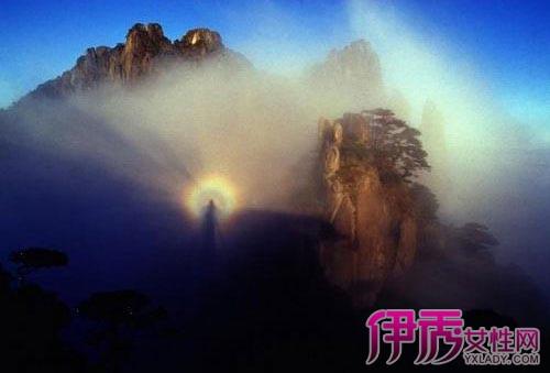 【黄山风景区双佛光】【图】黄山风景区双佛光