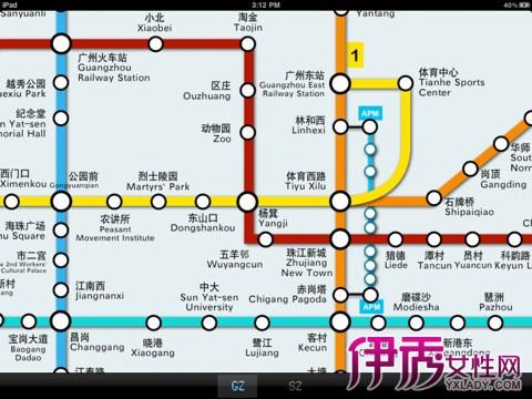 广州市地铁线路图 各路线运营时间介绍图片