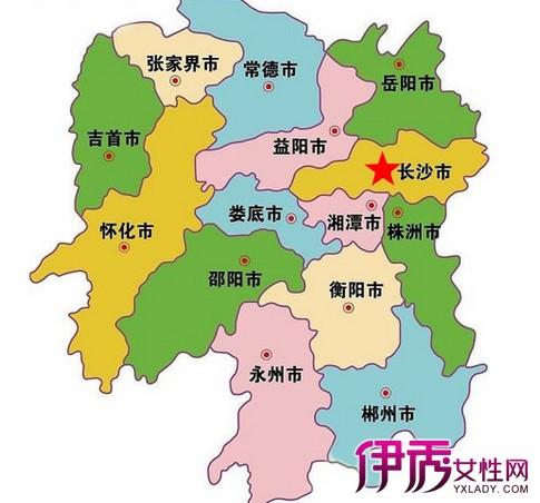【湖南长沙地图】【图】湖南长沙地图欣赏