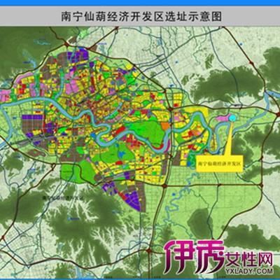 【图】南宁仙葫地图图片大全 南宁仙葫经济开发区的发展历程
