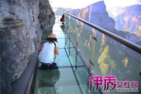 张家界大峡谷玻璃桥选址在张家界大峡谷风景区栗树