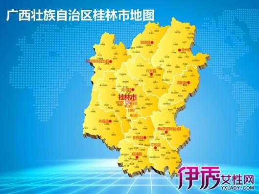 【图】桂林地图高清版大图 桂林3大不可错过的旅游景点