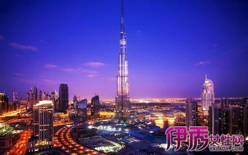 哈利法塔高828米,楼层总数162层