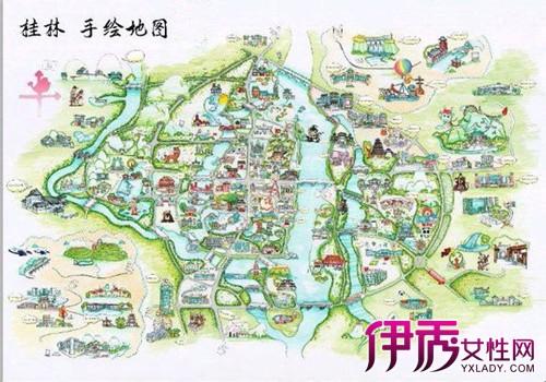 桂林地图叠彩政府 北极广场帝景华庭的位置在哪里图片