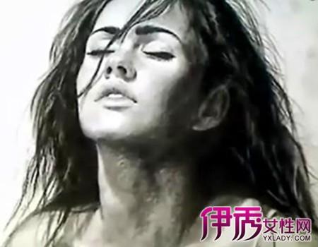 欣赏外国素描唯美头像 盘点6个素描的技法种类