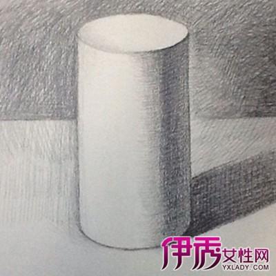 欣赏素描圆柱体图片 画素描的4大易出错常见问题需谨慎图片