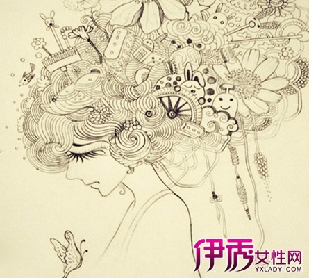 创意青春手绘插画特点 海量唯美手绘插画来袭图片