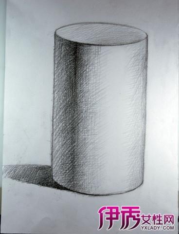 素描:指用单色或简单的颜色的工具描绘对象的轮廓、体积、结构、空图片