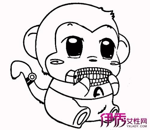 小猴子简笔画图片欣赏 3大知识要点你学会了吗