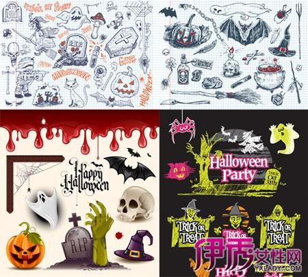 万圣节创意手绘海报展示 揭秘海报的6大设计技巧