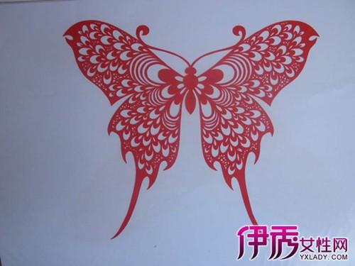 传统的蝴蝶剪纸 深刻文化内涵
