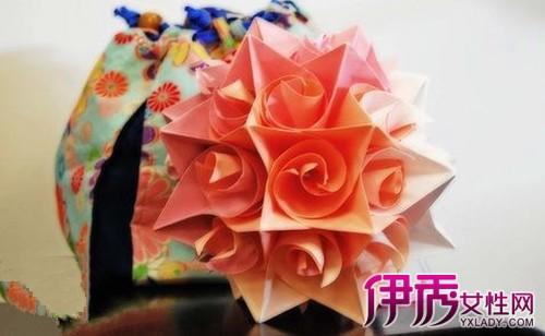 花朵折纸大全 图解花朵折纸方法图片