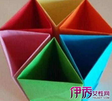 折纸笔筒图解大全 轻松掌握折纸的技巧运用图片