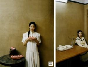 对上眼了?欧阳娜娜与奈雪的茶同框登上杂志