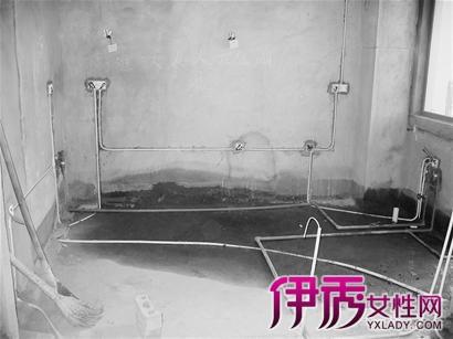 室内水电安装布线图展示 揭秘室内水电安装流程要点图片
