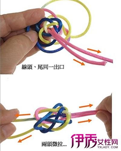 【图】纽扣结编法图解 4种编制方法简单直观又实用-纽扣结编法图解