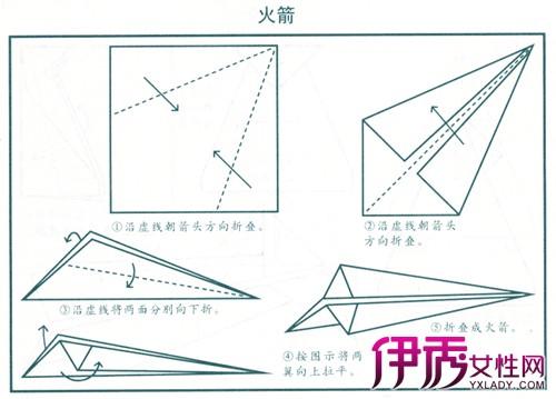 【图】怎样折纸飞机飞得久 小编教你9个简单步骤-怎样折纸飞机飞得久图片