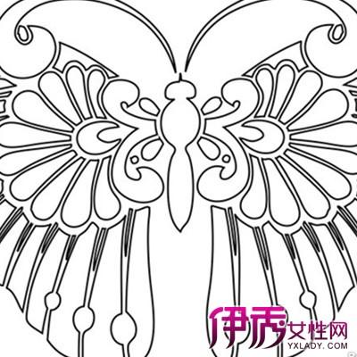 【图】蝴蝶风筝简笔画大全图片欣赏 简单线条下的美丽世界-蝴蝶风筝